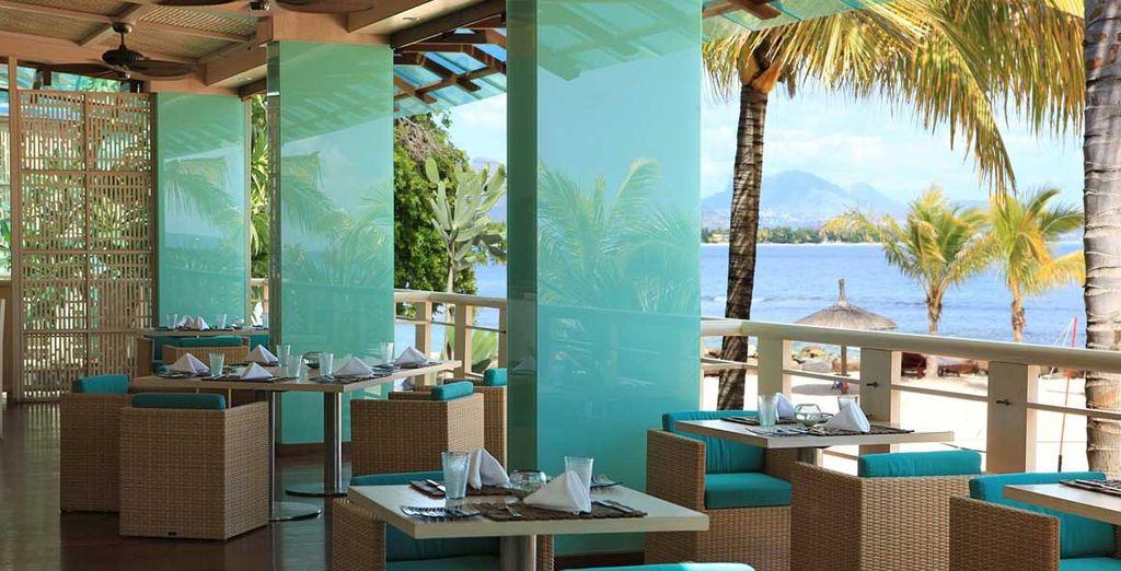 Regalatevi un pranzo vista mare