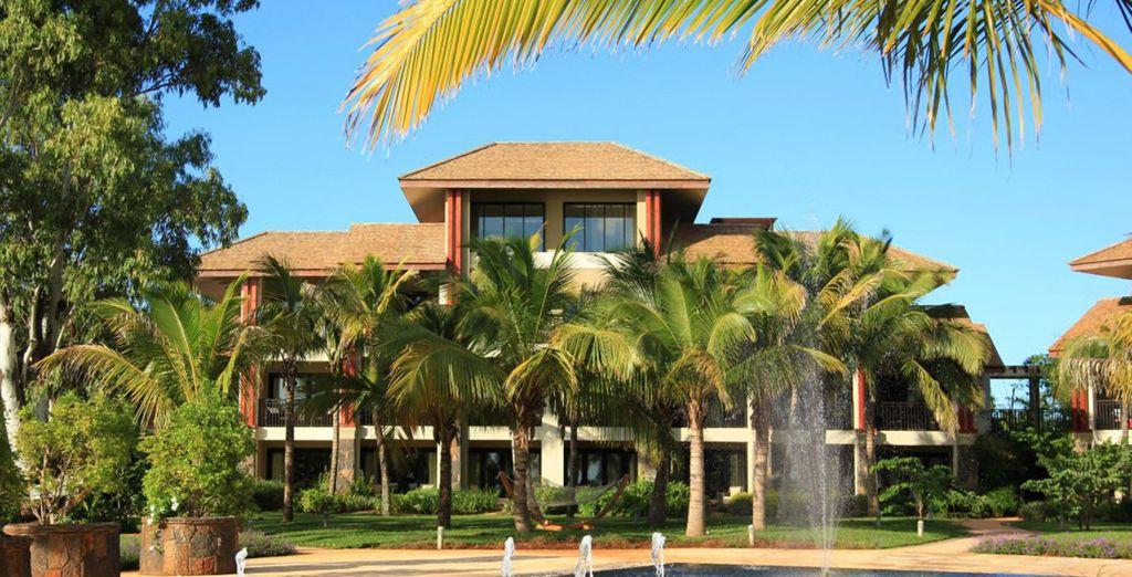 L'InterContinental Mauritius Resort Balaclava Fort 5* vi dà il benvenuto