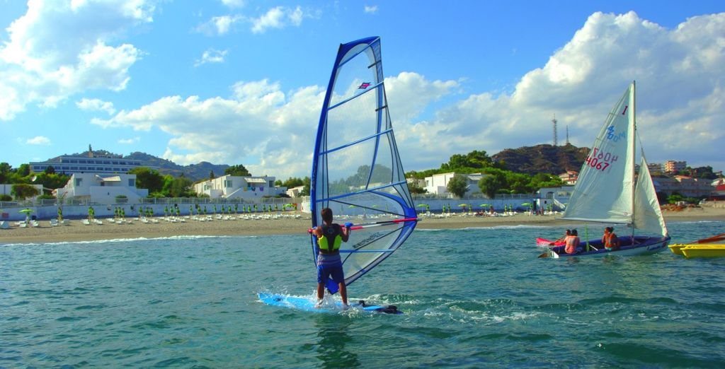 Divertitevi praticando sport acquatici