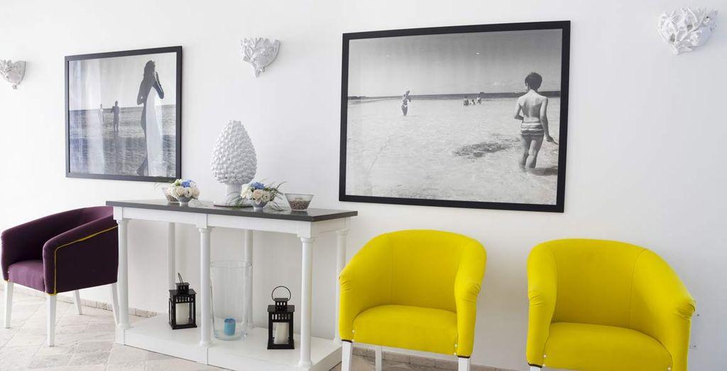 Dal design moderno e minimal