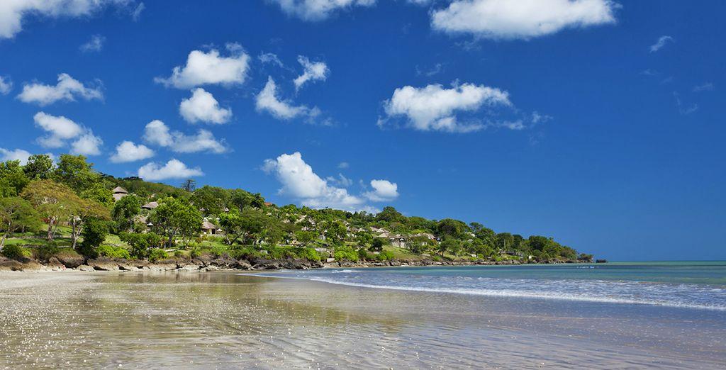 Continuerete poi il vostro viaggio sulla splendida spiaggia di Jimbaran