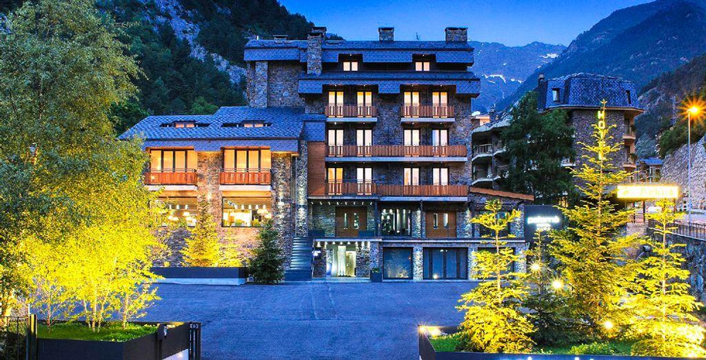Benvenuti ad Andorra, al 4 stelle Hotel Palomé !