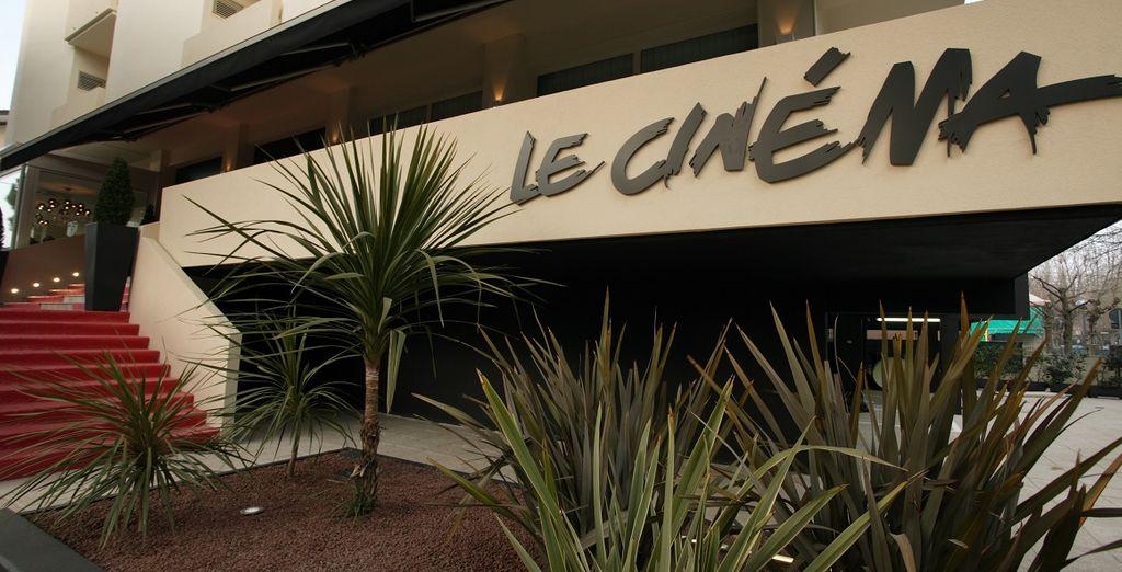 Il Design Hotel Le Cinéma è pronto ad accogliervi