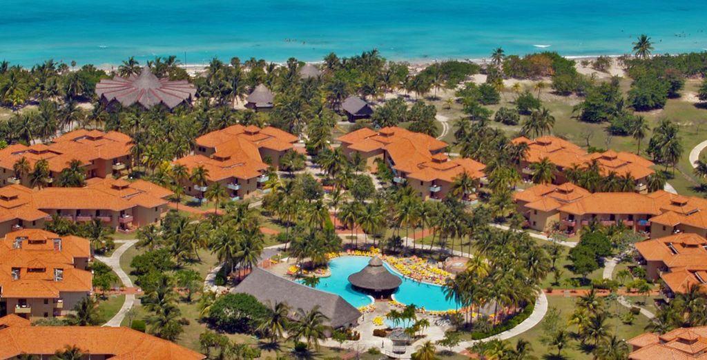 Splendido resort direttamente sul mare