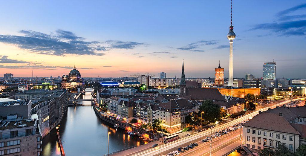 Nella cornice della spelendida città di Berlino
