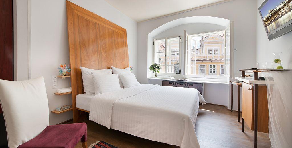 Design hotel neruda 4 voyage priv fino a 70 for Design hotel neruda praga praga repubblica ceca