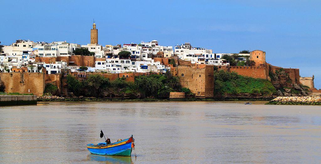 Fotografia della capitale del Marocco: Rabat