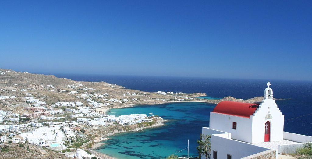 Mykonos, un paradiso terrestre nel cuore delle Cicladi.