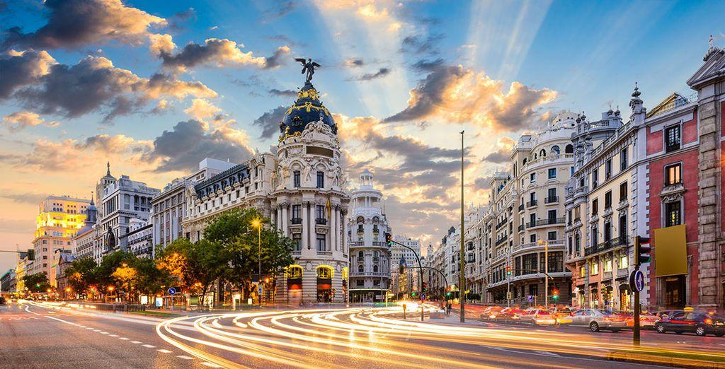 La bellissima capitale spagnola vi attende.