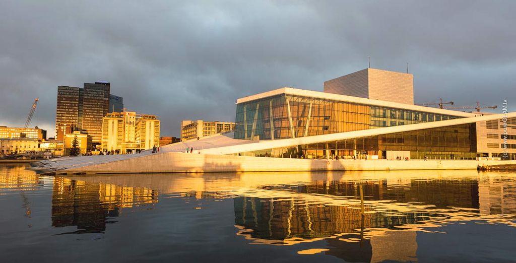 Oslo è una città che merita una visita.