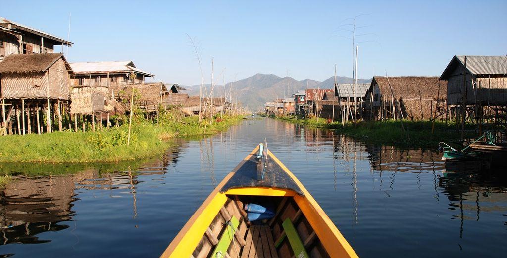 navigherete per i caratteristici villaggi