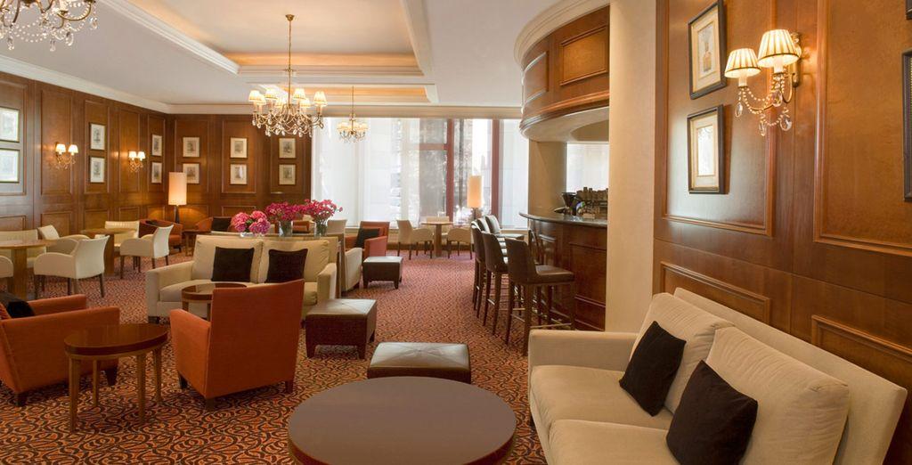 Gli interni hanno tutto lo stile e lo charme firmati Sheraton