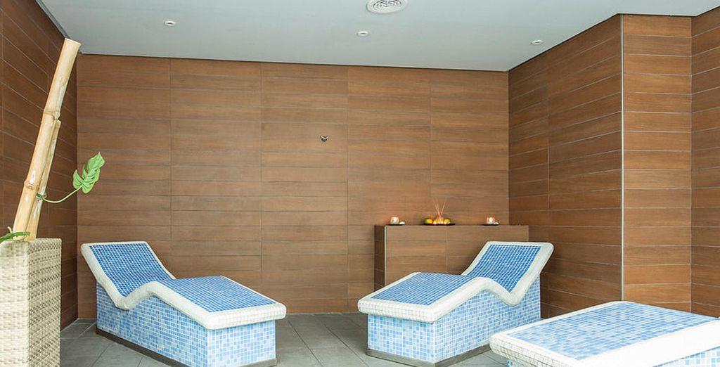il centro benessere vi aspetta per un soggiorno dedicato a voi stessi