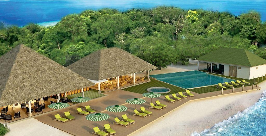 L'Hotel Oblu by Atmosphere at Helengeli 4*SUP è lieto di accogliervi in un vero paradiso naturale