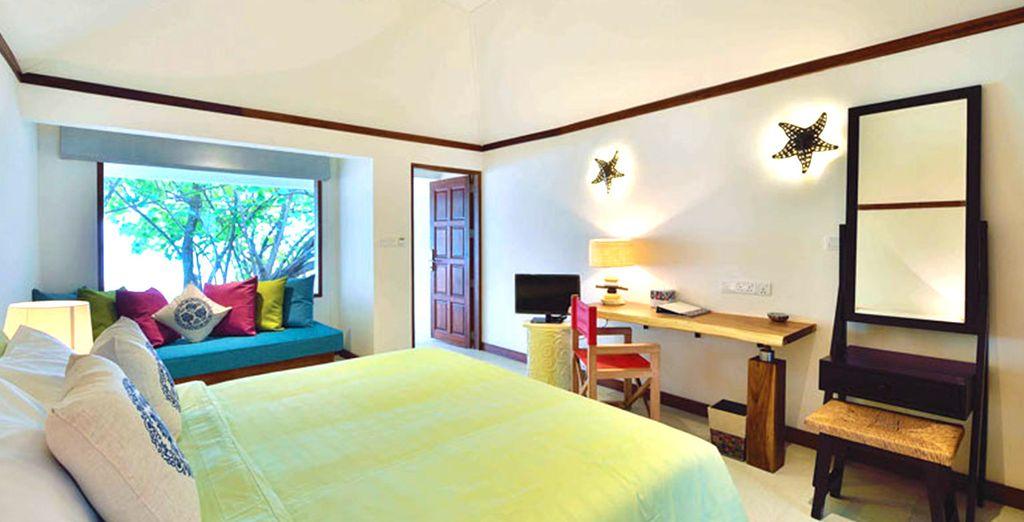 Abbiamo optato per voi accoglienti e luminose Beach Villa