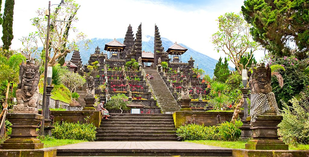La maestosità del Tempio Madre di Besakih è soprendente