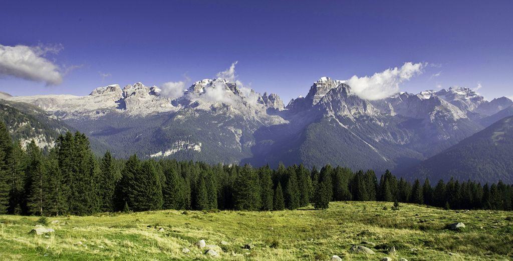 Le Dolomiti del Brenta sono l'ideale per soggiorni in pieno relax e circondati dalla Natura