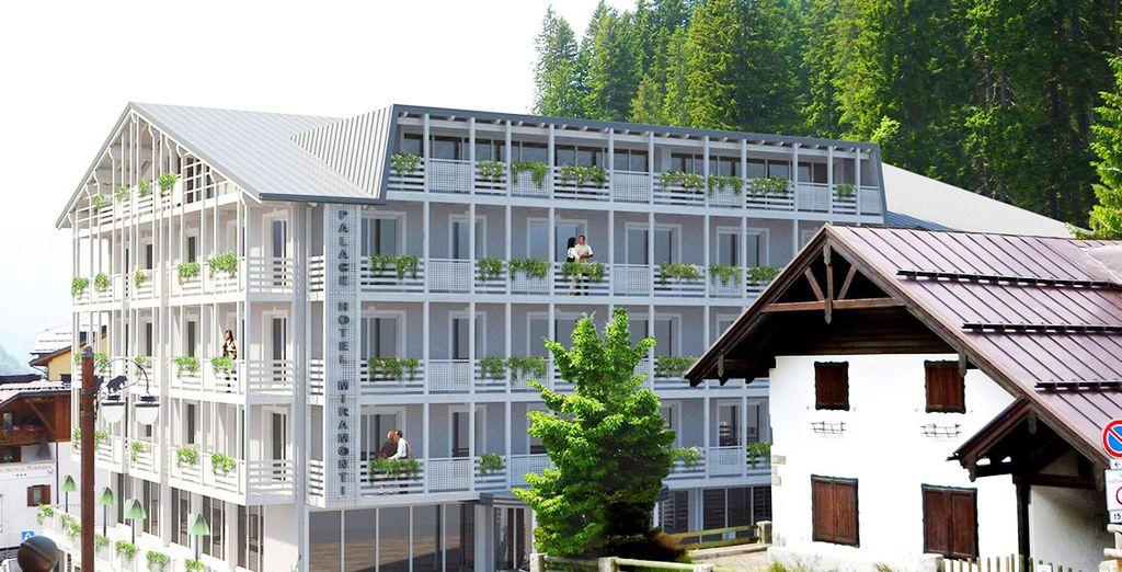 L'hotel Miramonti 4* si trova proprio a pochi passi dal centro