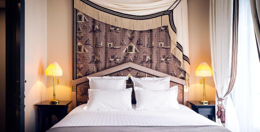 Benvenuti nel vostro boutique hotel di Parigi