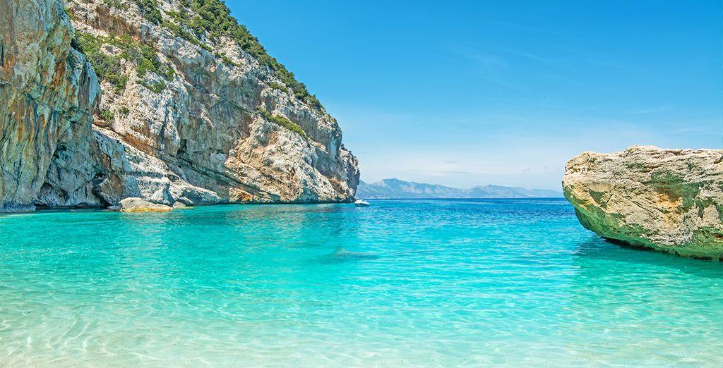 Scegliete il mare cristallino della Sardegna
