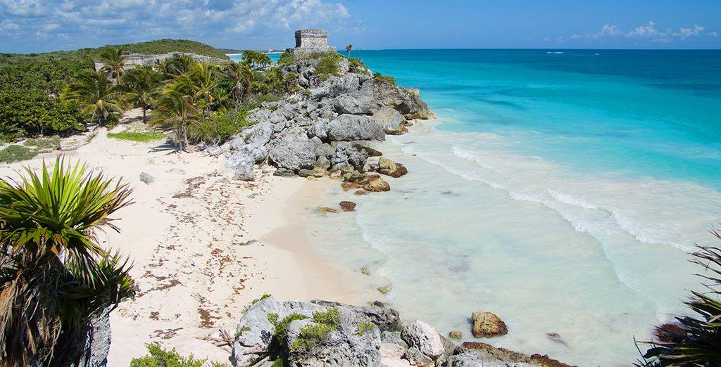 Non perdete l'occasione di fare qualche escursioni nell'incantevole Riviera Maya
