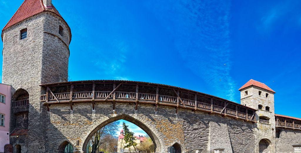 Scoprite la città vecchia di Tallinn