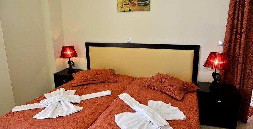 La vostra Suite vi aspetta