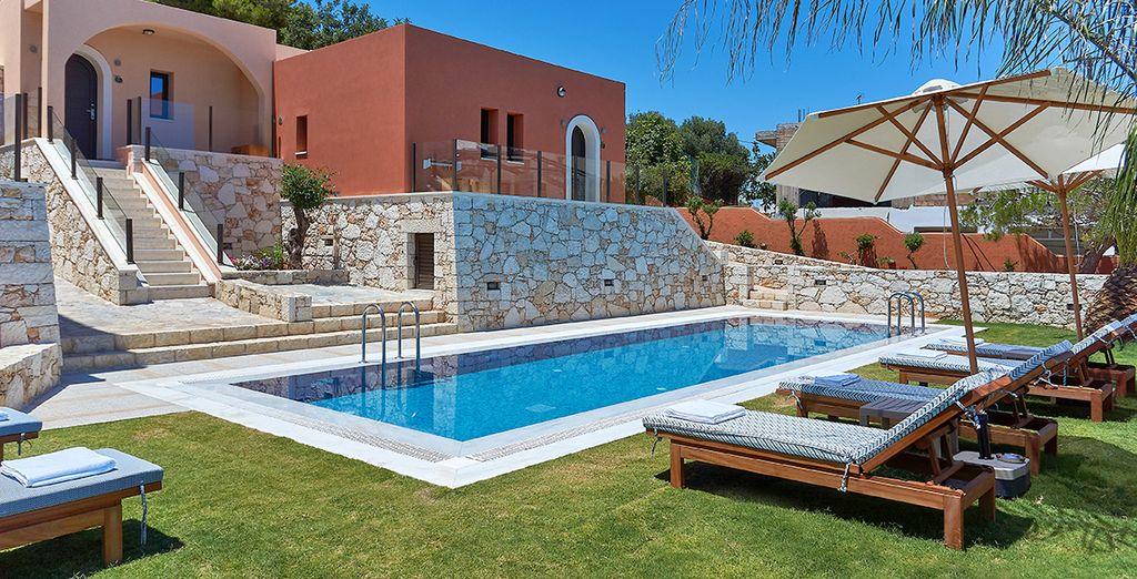 L'Esperides Villas & SPA Boutique vi dà il benvenuto