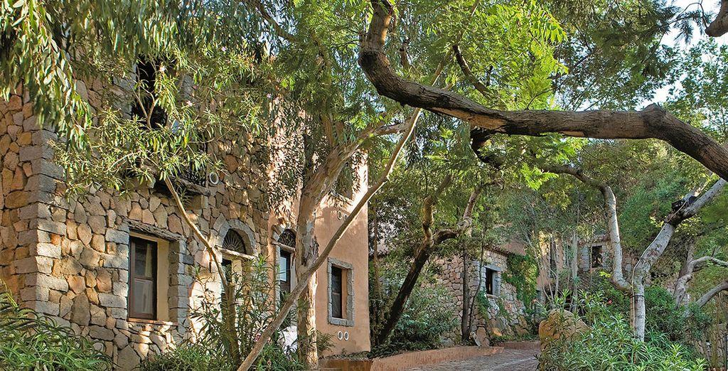 Sentirete l'atmosfera di un antico borgo di Sardegna