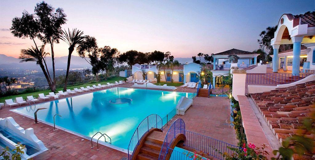 E ammirate tutti i colori magnifici dei tramonti della Sardegna