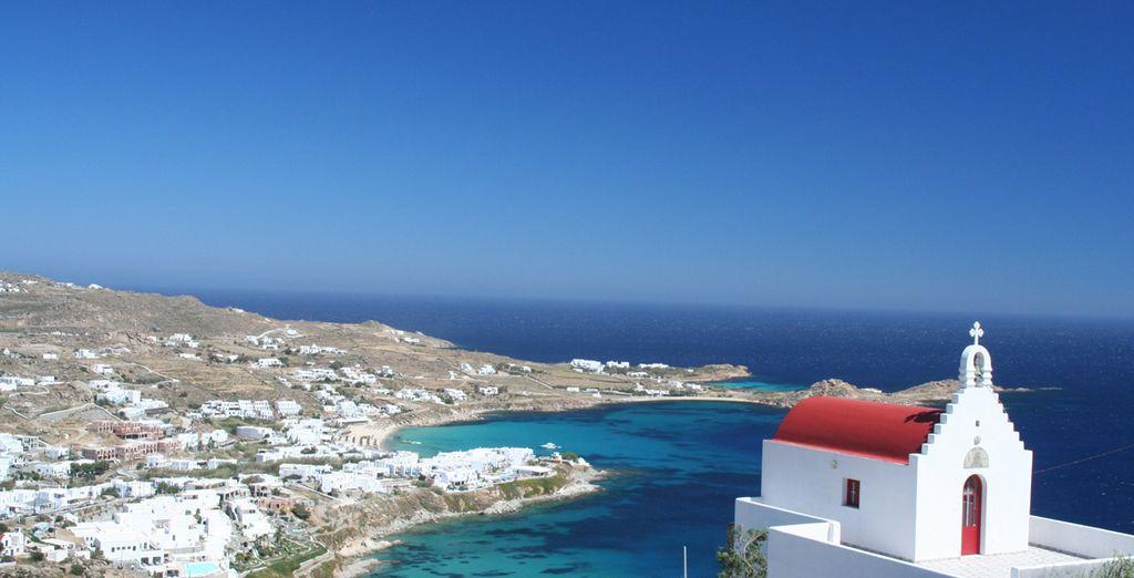Esplorate la bellissima Mykonos