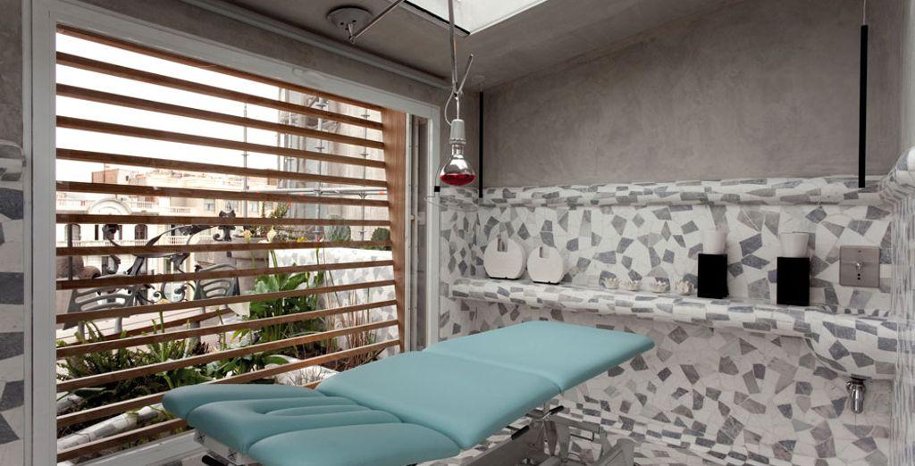 o la sala massaggi per ritrovare il benessere