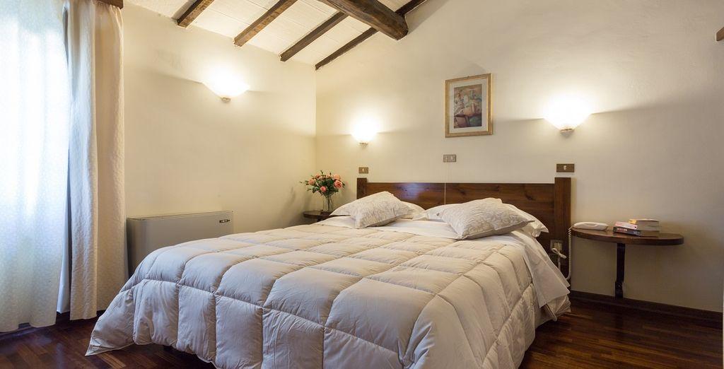 Rilassatevi nella vostra confortevole Camera Doppia confort classic