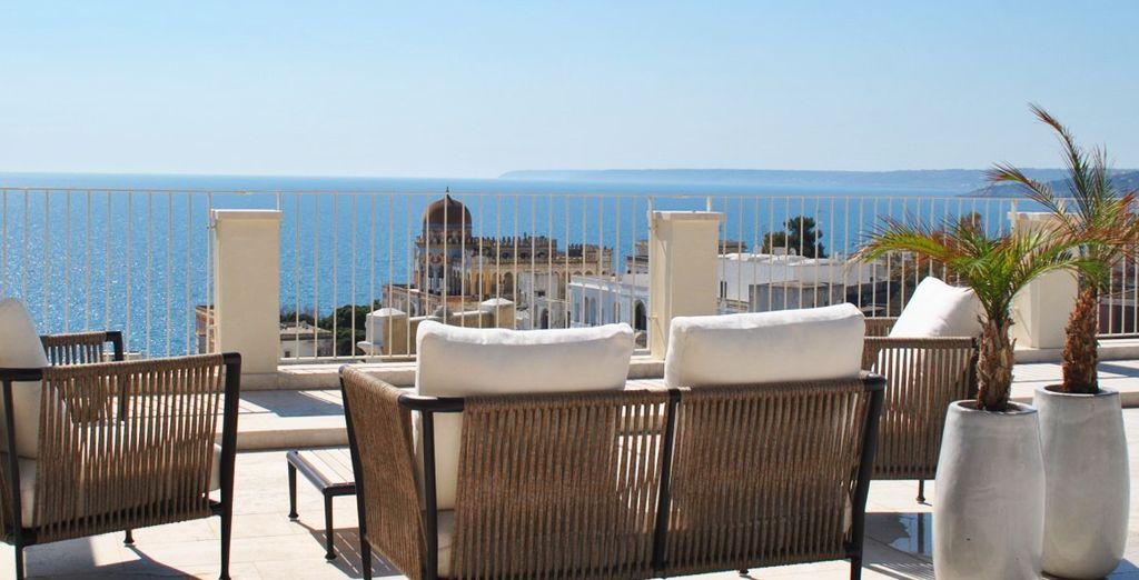 Scoprite la magnifica vista sul mare di Santa Cesarea Terme