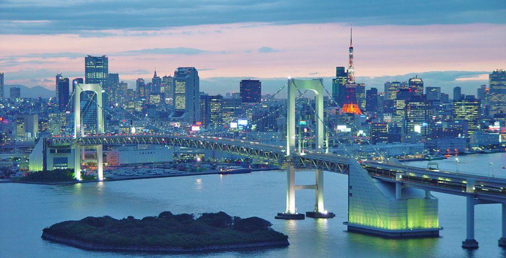 L'ultima città da esplorare sarà Tokyo con le sue principali attrazioni