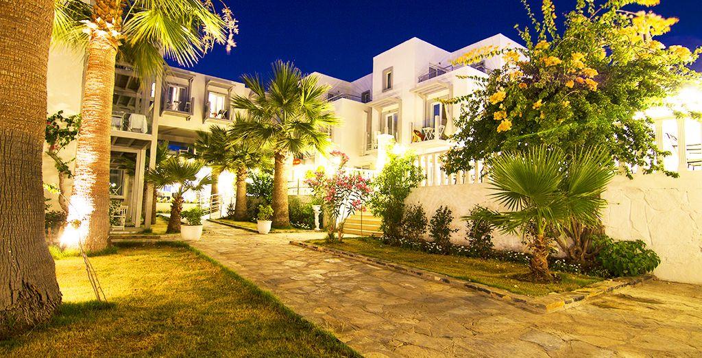 un confortevole resort in Turchia, nella magnifica penisola di Bodrum