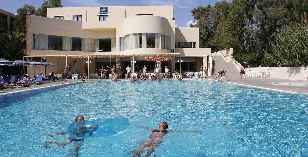 Il resort prevede anche uno spazio per i più piccoli, che potranno così divertirsi con i propri coetanei