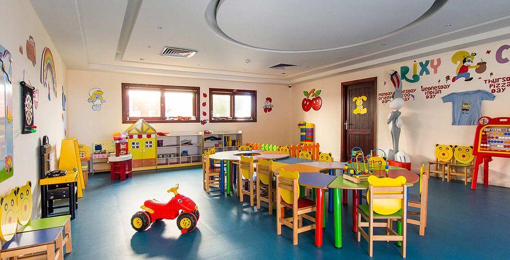 I bambini si divertiranno al miniclub grazie alle numerose attività proposte