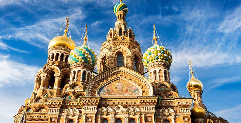 Scoprirete tutte le bellezze e della cultura della Russia