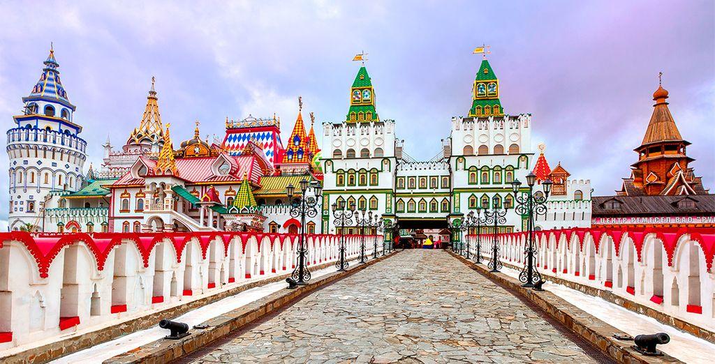 Visitate una città ricca di colori