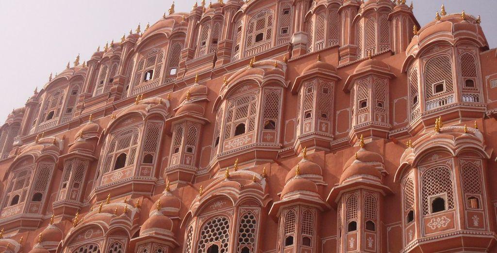 Ammirate il Palazzo dei Venti di Jaipur