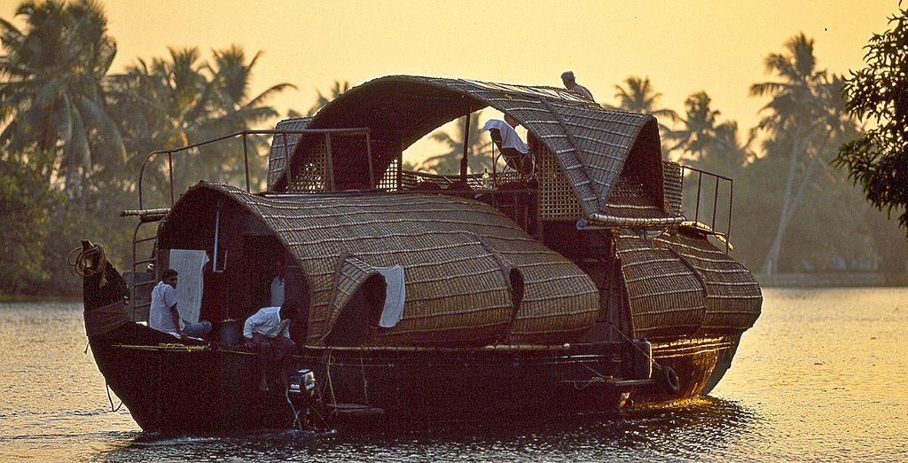 Da Cochi vi sposterete verso le lussureggianti backwaters