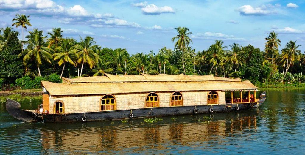 dove potrete imbarcarvi a bordo delle House Boats ed iniziare una crociera fra le backwaters