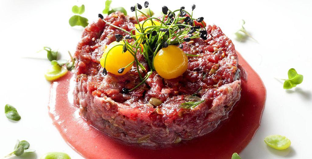 grazie ad un menù ispirato alla tradizione toscana