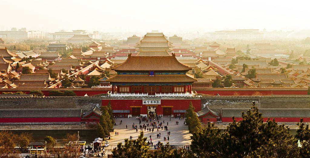 nella famosa Pechino