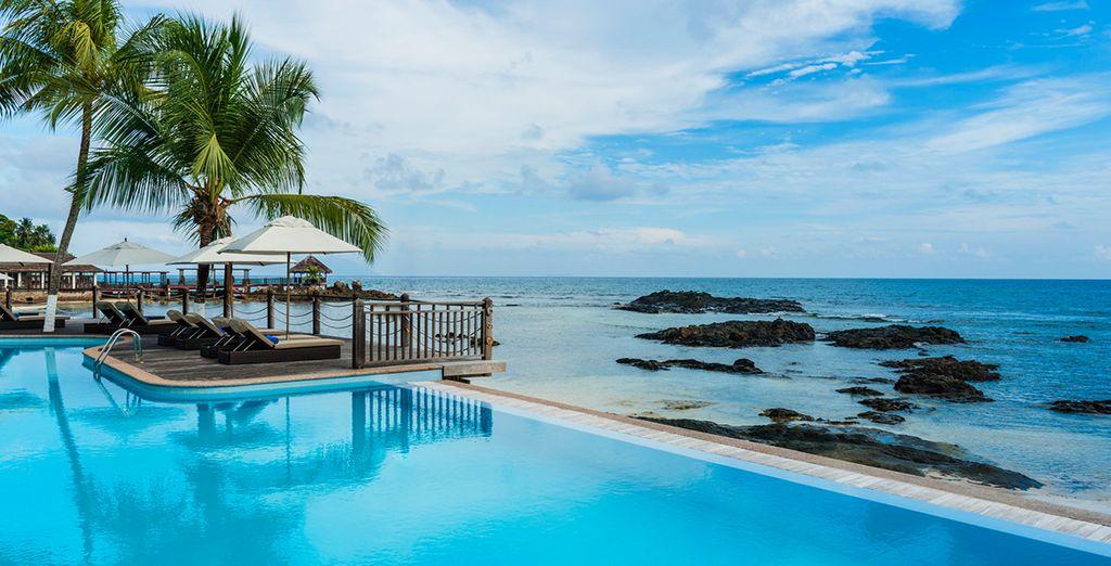 Il Le Merdien Fisherman's Cove è un hotel 5* sulla spiaggia di Beau Vallon