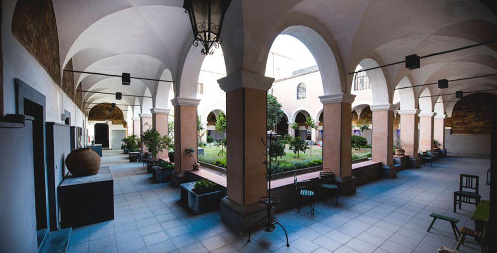 Benvenuti in un ex convento trasformato in resort