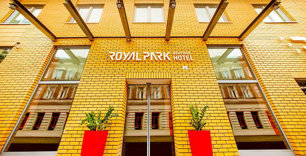 questo hotel vi aspetta nel cuore della città