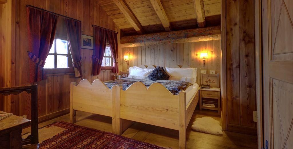 Rilassatevi nelle vostre confortevoli Camere Lo Miete Prestige o Classic