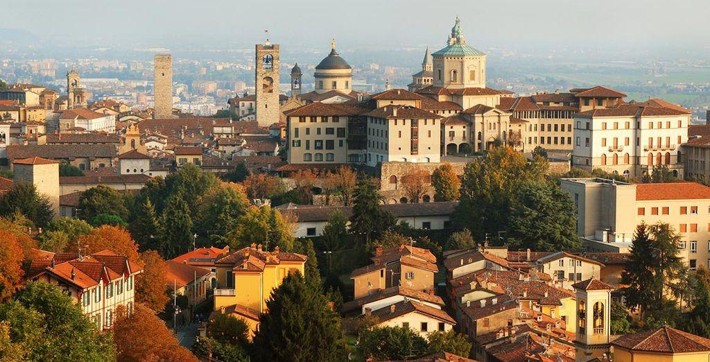 Fotografia della città di Bergamo